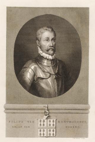 Philips van Montmorency, Graaf van Hoorne . - J.W. Kaiser, sculps.