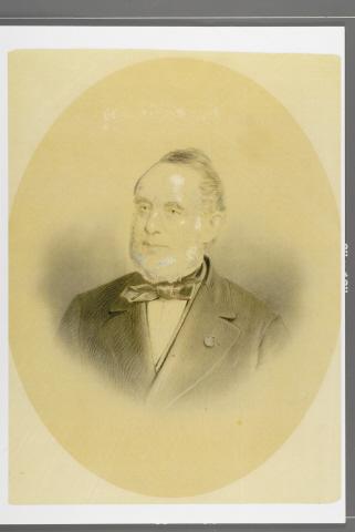 Prent van Louis Beerenbrouck
