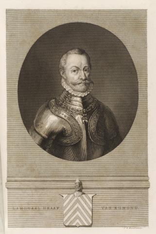 Lamoraal Graaf van Egmond . - J.W. Kaiser, sculps.