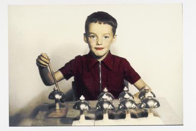 Ben van Gansewinkel, Montessori-kleuterschool, schooljaar 1954-1955