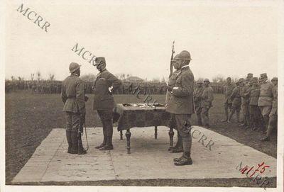 La festa per la consegna della medaglia alla brigata Pisa