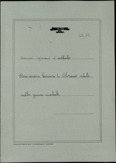 Brovarone Lorenzo di Abramo, Vigliano Biellese (Novara)