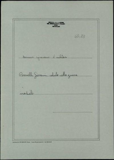 Brovelli Giovanni, Ranco (Como)