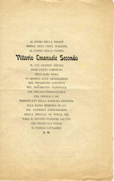 Il genio dell'Unità italiana