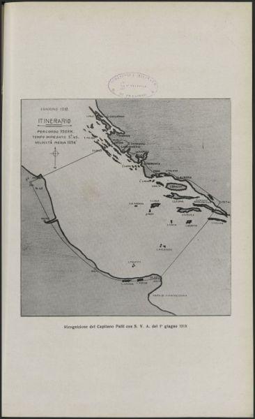 Ricognizione del capitano Palli con S.V.A. del 1. giugno 1918