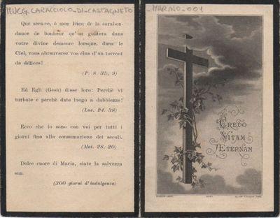 In memoria dell'anima benedetta di Marino Caracciolo di Castagneto