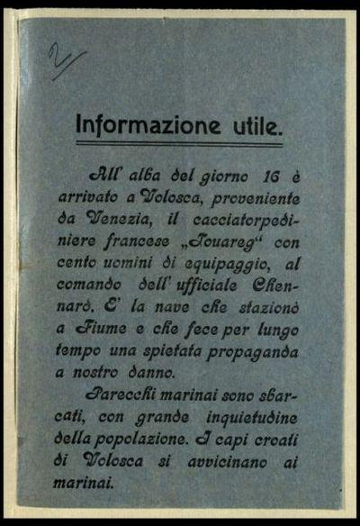 Informazione utile