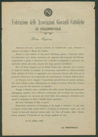 Federazione delle Associazioni Giovanili Cattoliche di Valdinievole