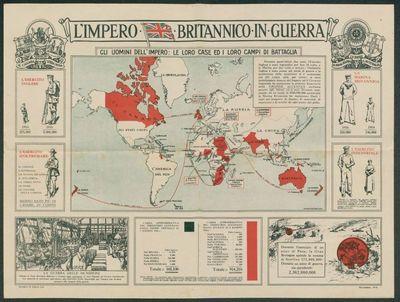 L'impero britannico in guerra  : gli uomini dell'impero  : le loro case ed i loro campi di battaglia