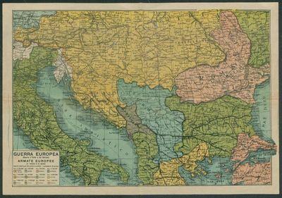 Guerra europea (Guerra d'Italia e dei Balcani), armate europee di terra e di mare