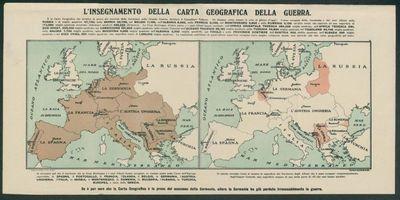 L'insegnamento della carta geografica della guerra