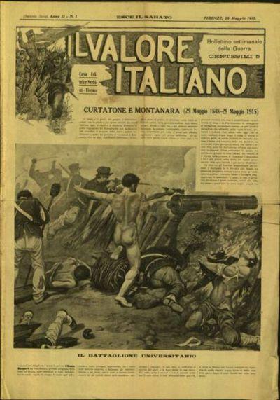 Il valore italiano : giornale cronistorico, illustrato