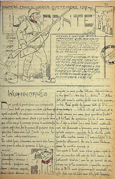 Il Fante  : giornale militare, apolitico, umoristico  / edito per cura del Comando battaglione comp.re Brigata Catania