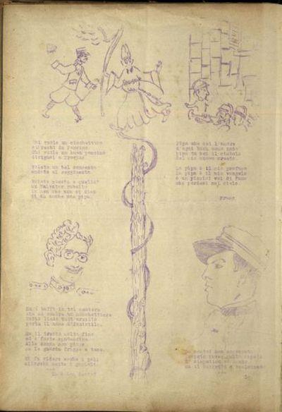 Il provino  : rivista variabile per i fanti del 221° reggimento