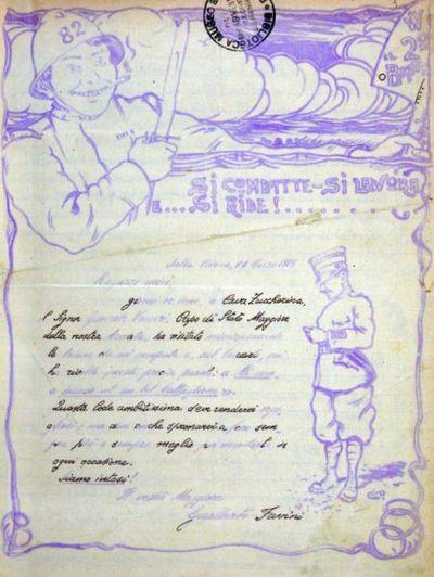 Si combatte, si lavora e ... si ride! ...  : giornale del 2° battaglione dell'82° reggimento fanteria