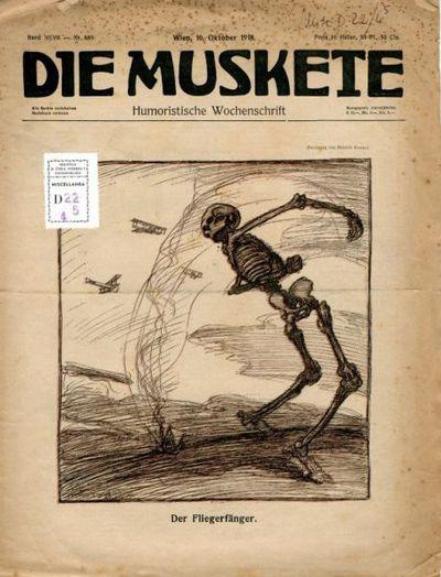 Die muskete : humoristische Wochenschrift