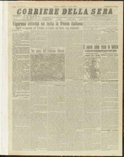 La grande guerra europea 1914-1918 : rassegna stampa