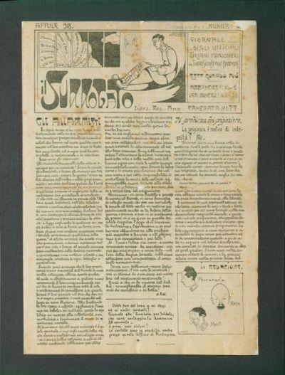 Il surrogato : giornale degli ufficiali italiani prigionieri in Theresianstadt (Boemia)