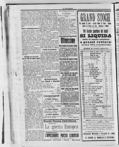 Il cittadino : gazzetta di Savona : organo democratico della Liguria occidentale