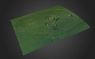 Ráith na Ríg, Tara (3D Model, photo texture)