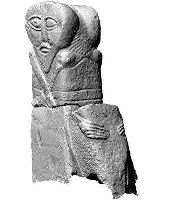 Boa Figure, Boa Island (3D Model)