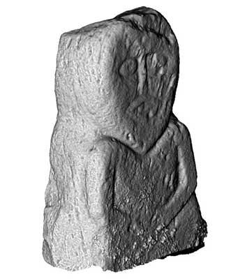 Lustymore Man, Boa Island (3D Model)