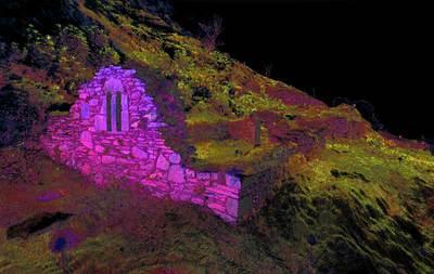 Temple-na-Skellig, Glendalough (High resolution 3D point cloud model