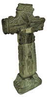 Market Cross, Glendalough (3D model PDF, textured)