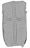 Decorated Cross Slab 108, Clonmacnoise (Images)