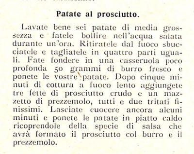Patate al prosciutto