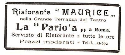 Ristorante Maurice Roma