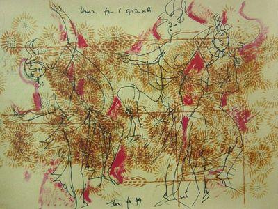 Pubblicazioni Disegni, bozzetti e dipinti non collegati a opere particolari. <BR>Documenti dal 1939