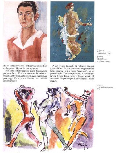 Articoli Mostre di Dario Fo e Franca Rame<BR>Documenti dal 1972