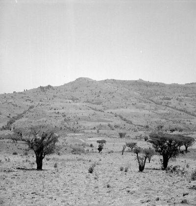 Gondar: paesaggio presso il C. Chercher