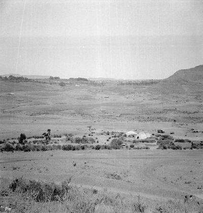 Gondar: veduta dell'ex-consolato italiano