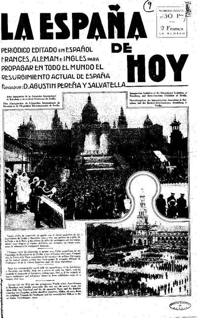 La España de hoy