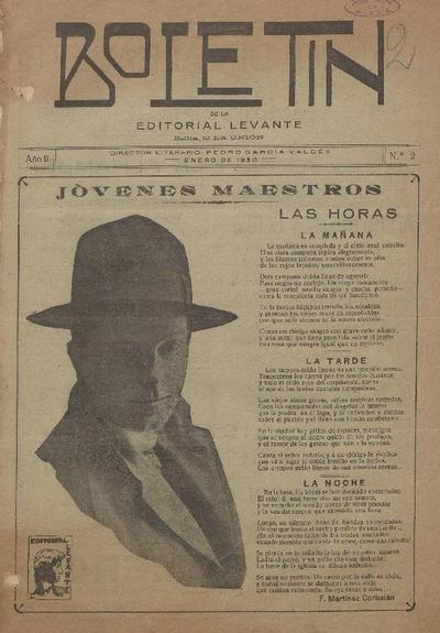 Boletín de la Editorial Levante