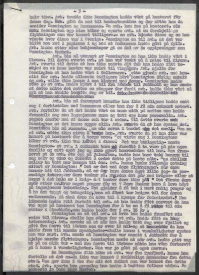 Rikspolitisjefen, Svenskearkivet, stykke 281.4, 1943 - 1945