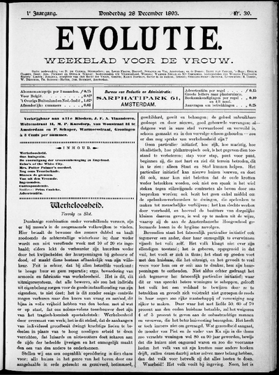 Evolutie: weekblad voor de vrouw, jaargang 01, nummer 39