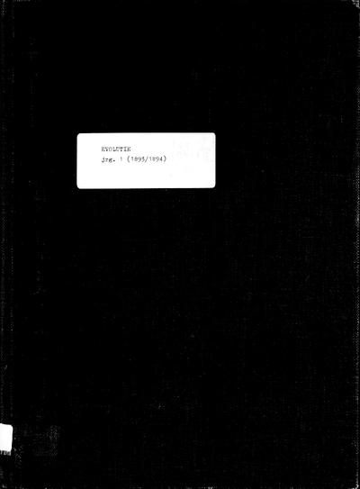 Evolutie: weekblad voor de vrouw, jaargang 01, nummer 53