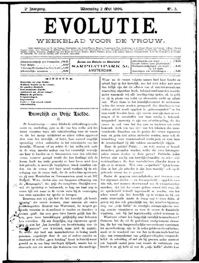Evolutie: weekblad voor de vrouw, jaargang 02, nummer 05