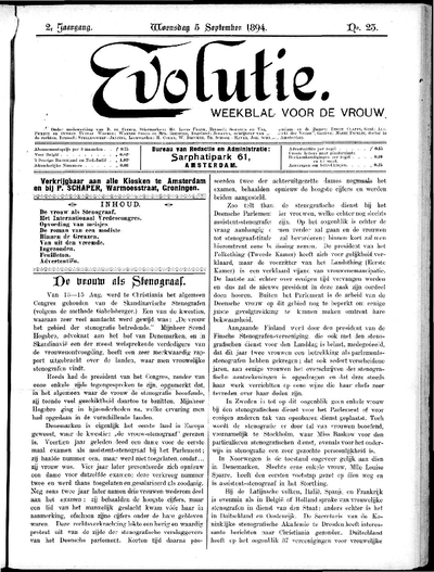 Evolutie: weekblad voor de vrouw, jaargang 02, nummer 23