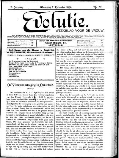 Evolutie: weekblad voor de vrouw, jaargang 02, nummer 32