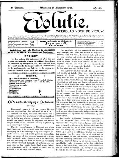 Evolutie: weekblad voor de vrouw, jaargang 02, nummer 33