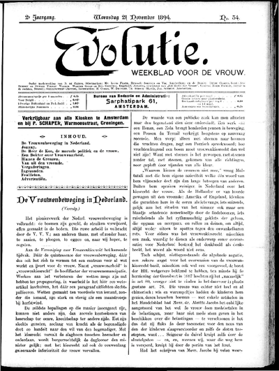 Evolutie: weekblad voor de vrouw, jaargang 02, nummer 34