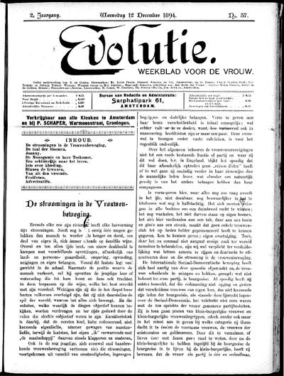 Evolutie: weekblad voor de vrouw, jaargang 02, nummer 37