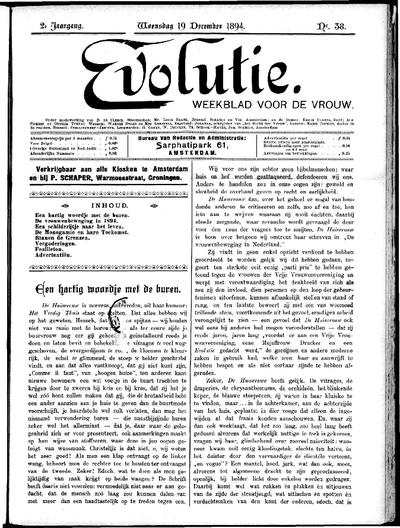 Evolutie: weekblad voor de vrouw, jaargang 02, nummer 38