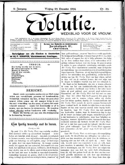 Evolutie: weekblad voor de vrouw, jaargang 02, nummer 39