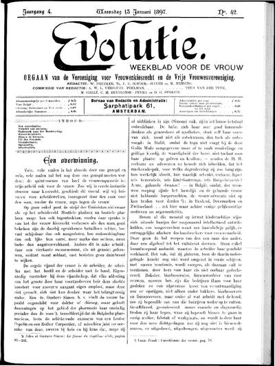Evolutie: weekblad voor de vrouw, jaargang 04, nummer 42