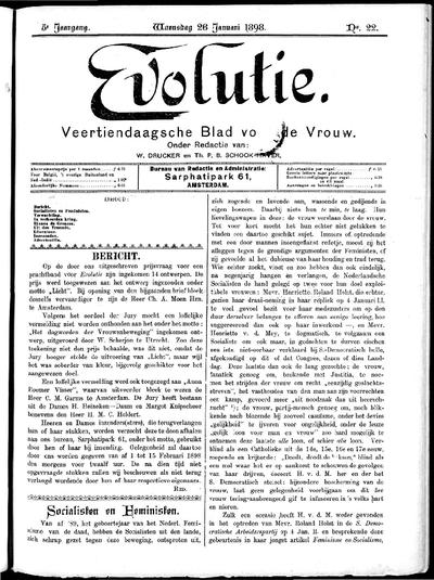 Evolutie: weekblad voor de vrouw, jaargang 05, nummer 22